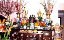 4 đồ vật không nên đặt trên bàn thờ gia tiên