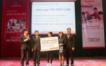 Gia đình doanh nhân Hà Linh nhận 4 tỉ đồng bảo hiểm