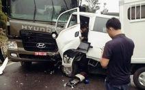 Xe chở phạm nhân gặp tai nạn, 1 người chết