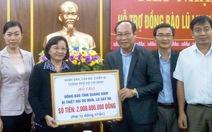 TP.HCM tặng 2 tỉ đồng cho dân vùng lũ Quảng Nam