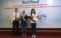Công ty NutiFood khen thưởng tay bơi trẻ Phương Trâm