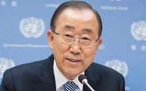 Ông Ban Ki Moon có thể tranh cử tổng thống Hàn Quốc