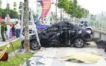 Lao ôtô vào cột điện, Chánh thanh tra Sở NN&PTNT tử vong