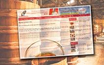 Vinastas cải chính thông tin khảo sát nước mắm