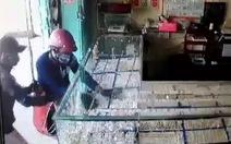 Clip băng cướp táo tợn cướp tiệm vàng ở Tây Ninh