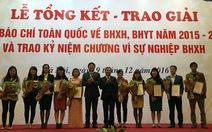 Tuổi Trẻ nhận giải báo chí toàn quốc về BHXH, BHYT