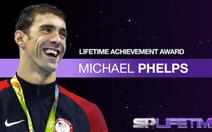 """Phelps được BBC trao phần thưởng """"Thành tựu trọn đời"""""""