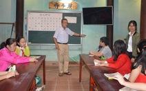 Ông giáo già và lớp tiếng Nhật ở phố Hội