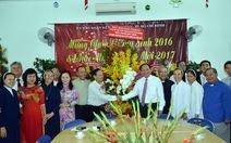 Lãnh đạo TP.HCM thăm, chúc mừng các cơ sở tôn giáo nhân dịp Giáng sinh năm 2016