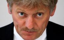 Điện Kremlin nói Nga tạm dừng đối thoại với Mỹ