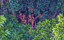 Lộ ảnh mới nhất về bộ lạc Amazon bí ẩn