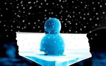 Noel, ngắm người tuyết nhỏ hơn sợi tóc người