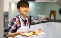 Đinh Thanh Hải 'Vua đầu bếp' tuổi 13