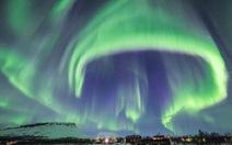Bắc cực quang xuất hiện ở Phần Lan đẹp sững sờ