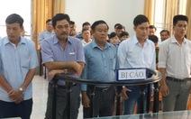 5 nhân viên bảo vệ rừng phá đầm tôm bà Ánh Ngọc hầu tòa