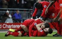 Đè bẹp Stoke, Liverpool trở lại vị trí thứ hai