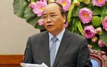 Thủ tướng nêu chín tồn tại năm 2016