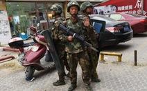 Trung Quốc bắn chết 4 kẻ đánh bom tự sát tại Tân Cương