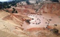 Đề nghị xử lý vi phạm ở mỏ titan Suối Nhum