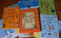 Những trang sách đồng hành cùng cha mẹ năm 2016