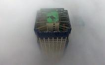"""Sương mù biến ngày thành """"đêm"""",Trung Quốc báo động đỏ"""