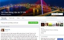 Sở GTVT Đà Nẵng lập facebook tiếp nhận phản ánh người dân