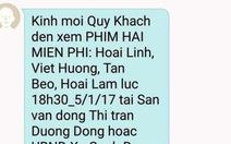 Dân Phú Quốc nhốn nháo vì nhà mạng mời xem hài sai địa điểm
