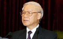 Tổng Bí thư Nguyễn Phú Trọng thăm Trung Quốc