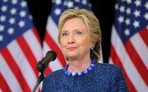 Bà Clinton sẽ rời bỏ chính trường?
