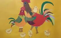 Đón năm Dậu, ngắm tranh gà của triển lãm Đinh Dậu