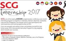 Cơ hội cho bạn trẻ đi thực tập tại Thái Lan