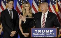 Ông Trump đề cử con rể làm cố vấn cao cấp