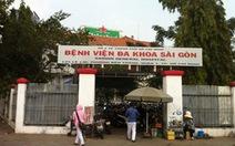 Hơn 32 tỉ đồng nâng cấp Bệnh viện Đa khoa Sài Gòn