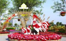 Hội chợ hoa xuân Phú Mỹ Hưng chủ đề Xuân no ấm