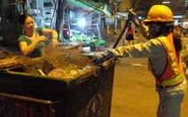 Lặng lẽ đời công nhân quét rác