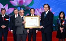 Trao 'Nobel Việt Nam' cho 16 công trìnhkhoa học công nghệ