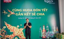 Carlsberg Việt Nam chung tay trao Tết ấm - Xuân vui đến người dân miền Trung