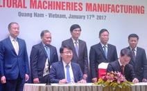Thaco hợp tác Hàn Quốc sản xuất máy nông nghiệp