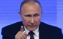 """Tổng thống Putin: """"Hồ sơ Donald Trump là chuyện hư cấu"""""""