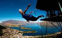 Tết đến sang New Zealand chơi trò nhảy bungee