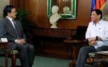 Tổng thống Philippines gợi ý gặp lại Chủ tịch Trung Quốc