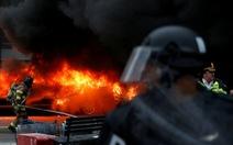 Cảnh sát Mỹ bắt 217 người biểu tình phản đối ông Trump