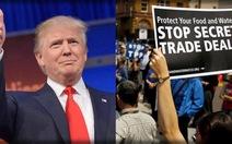 Nhà Trắng tuyên bố rút khỏi TPP