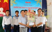 Tuổi Trẻ thăm, tặng quà tết Bộ Tư lệnh Vùng 5 hải quân