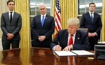 Tổng thống Trump ký sắc lệnh 'cô lập' Obamacare