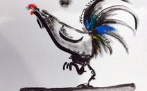 Năm Đinh Dậu, muôn cung bậc cảm xúc với tranh gà