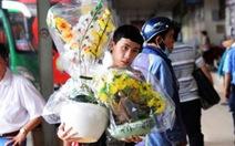 Mang mồ hôi nước mắt mưu sinh ở Sài Gòn về với tết
