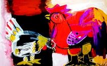Vẽ gà - thú chơi bất tận
