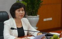 Chưa phân công việc cho bà Hồ Thị Kim Thoa