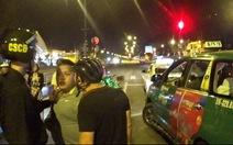 Phê ma túy, cướp taxi chạy ngược chiều náo loạn đường phố